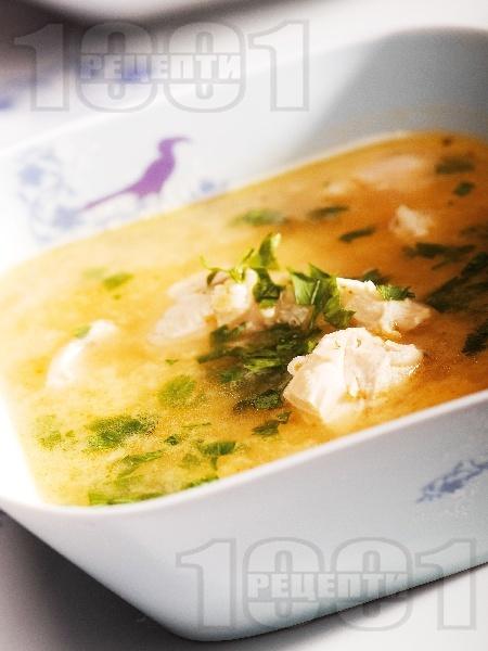 Патешка супа с овесени ядки - снимка на рецептата